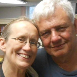 Ellen and David Cohen – food volunteers at St. Paul's shelter since its inception