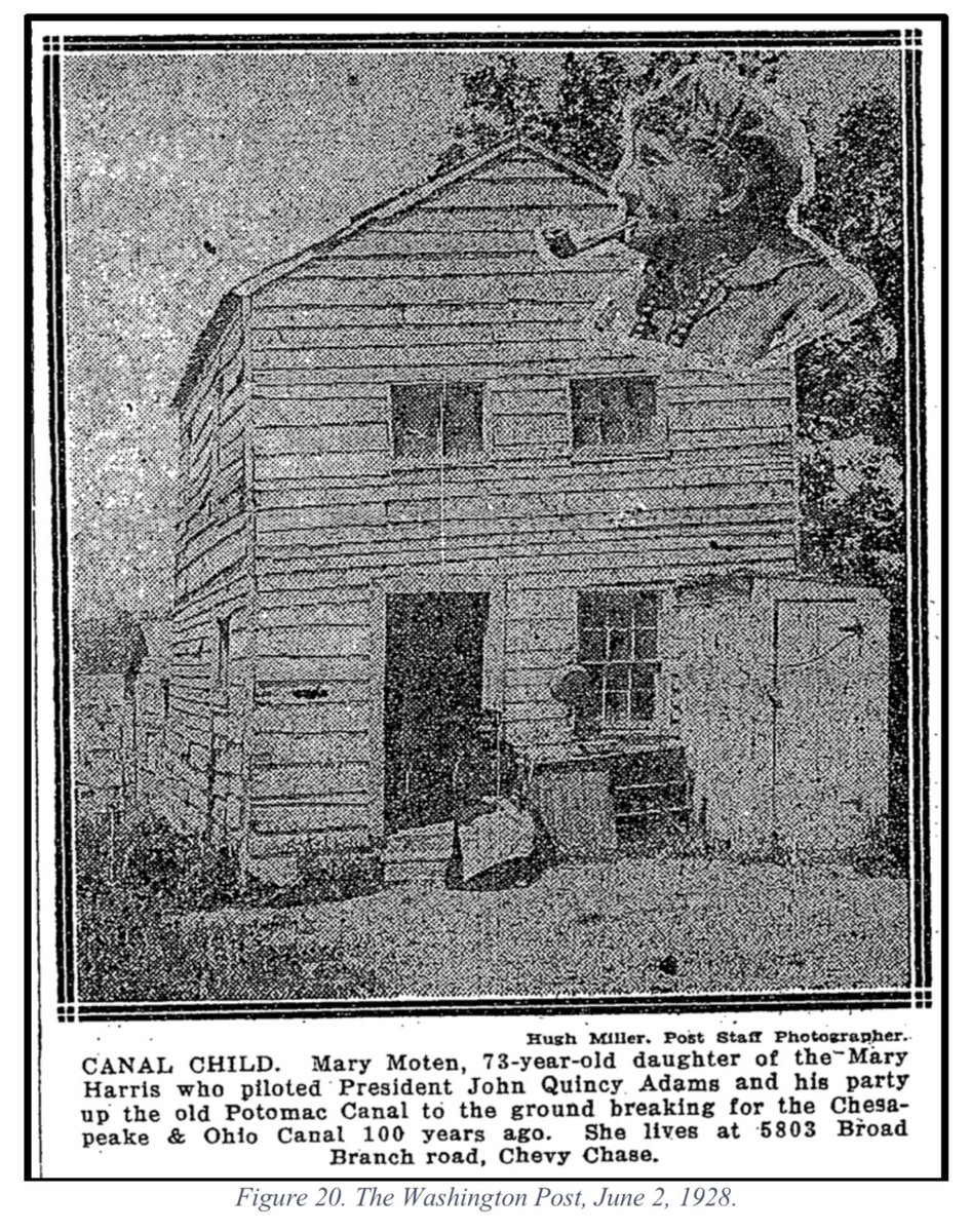Mary Moten home, Washington Post 1928