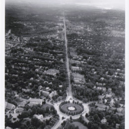 1930s image of Chevy Chase Circle DC