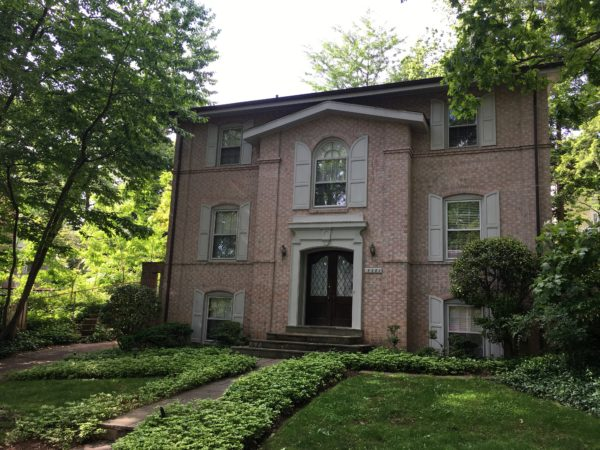Home in Chevy Chase DC