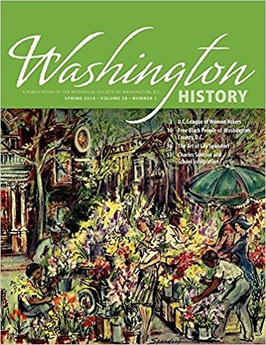 Washington History Magazine Cover