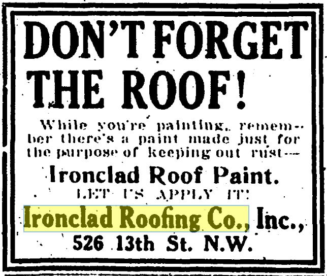 Ironclad Roofing Ad