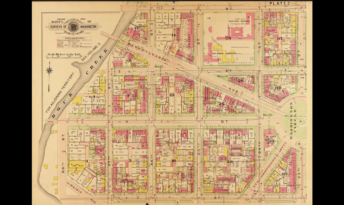 Baist Atlas Vol.1 1911 Plate 2