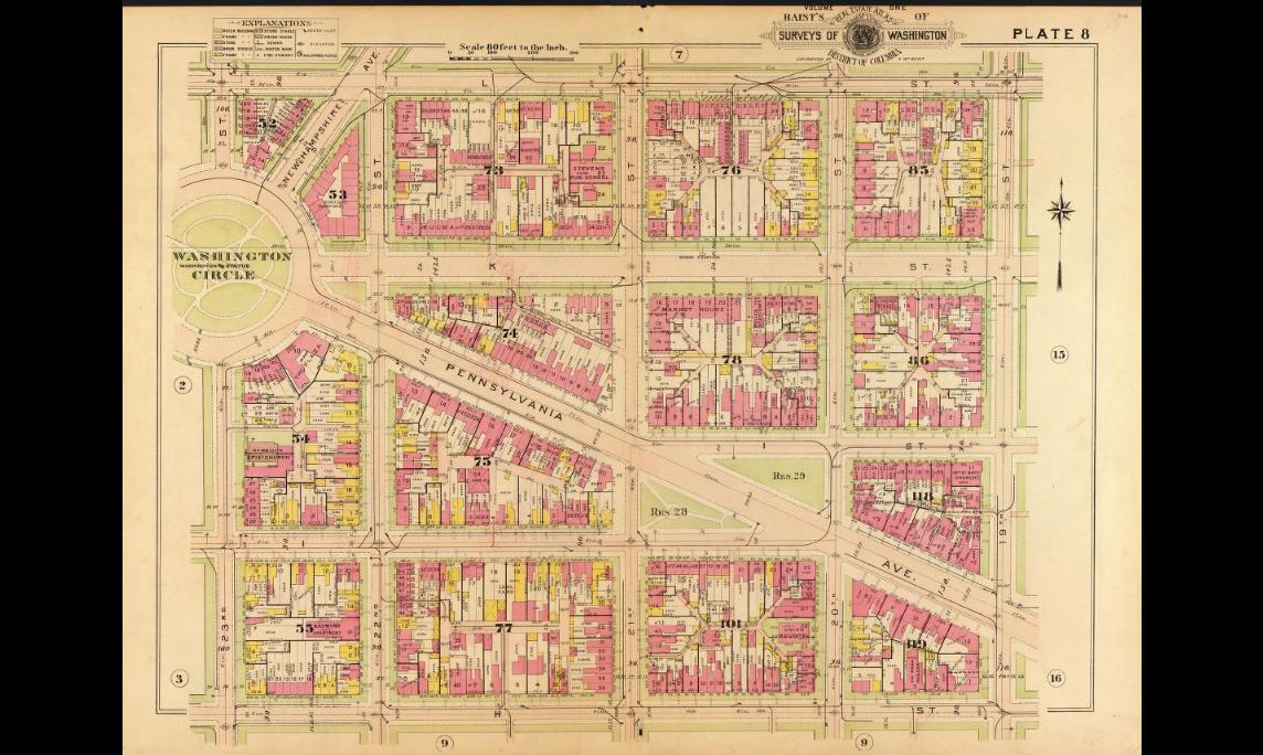 Baist Atlas Vol. 1 1911 Plate 8