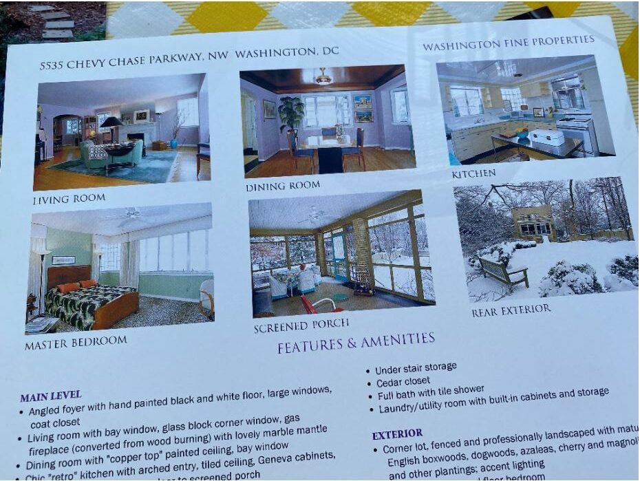 Hollywood house brochure inside