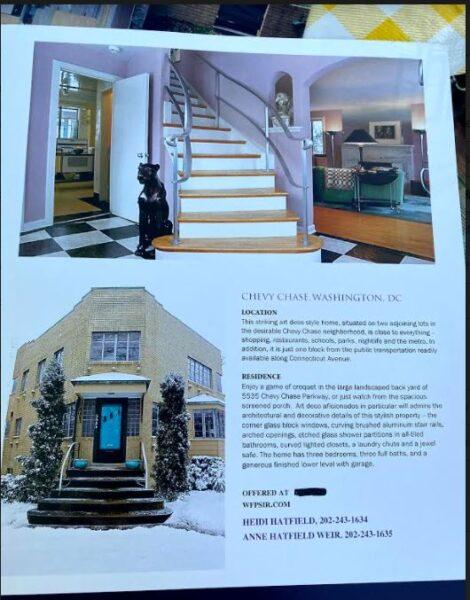 Hollywood house brochure