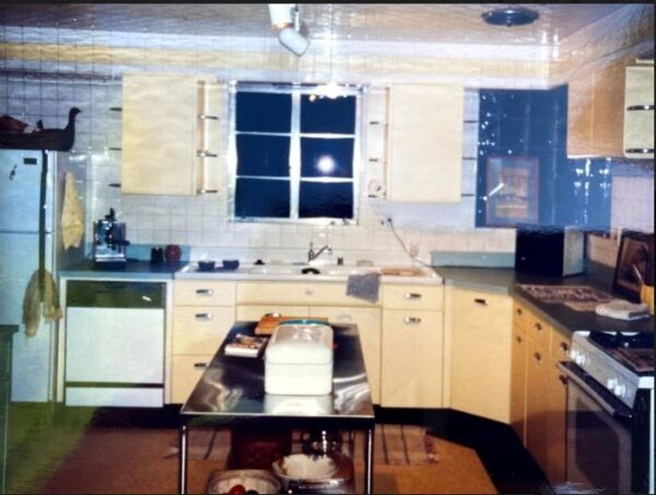 Hollywood house kitchen