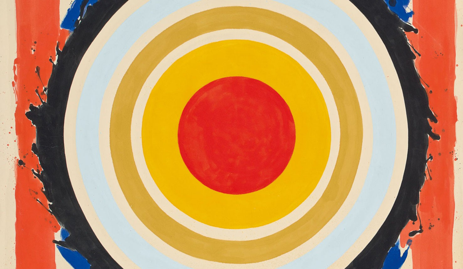 """""""Circle"""" by Kenneth Noland in 1958"""