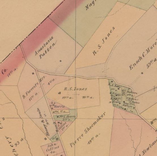 1891 Hopkins Map of Jones Farm