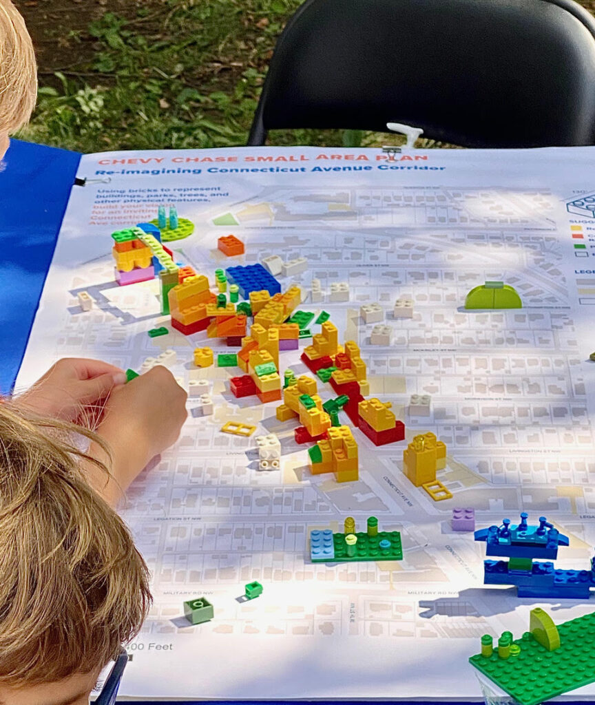 Chevy Chase Day Lego Planning